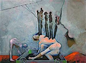 Knut Rose, Uten tittel, 2000, 89 x 116 cm