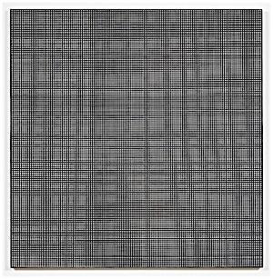 Kristin Nordhøy, Interlace No. 1, 2017, 120 x 118 cm