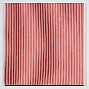 Kristin Nordhøy, Interference X, 2017, 120 x 118 cm
