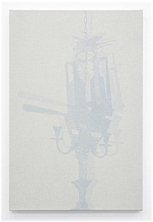 Lars Morell: Shadow Canvas 3, 2014, 90 x 60 cm