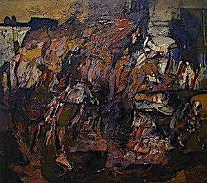 Louis Nallard, La Nuit de Barcelone, 1978, 80 x 90 cm