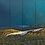 Magne Austad: 1, 2008, 160 x 180 cm
