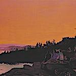 Marius Engstrøm: Sunset soon forgotten, 2011, 114 x 146 cm