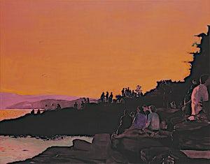 Marius Engstrøm, Sunset soon forgotten, 2011, 114 x 146 cm