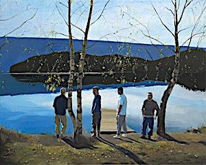 Marius Engstrøm, Something pure, something innocent, 2011, 120 x 150 cm