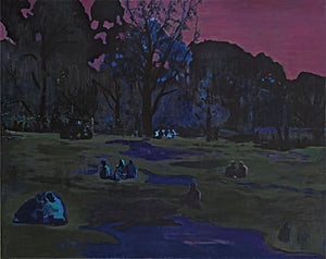 Marius Engstrøm, Strange form of life, 2011, 120 x 150 cm