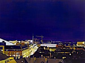 Marius Engstrøm: Insomnia, 2012, 150 x 200 cm