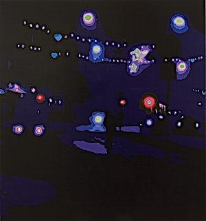 Marius Engstrøm, Below the lights, 2007, 150 x 140 cm