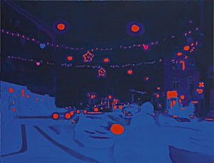Marius Engstrøm, I'm not here, this isn't happening, 2007, 115 x 150 cm