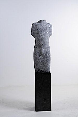 Nico Widerberg, Ung mann, 2010, 165 x 36 cm