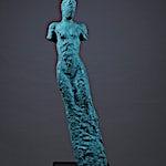 Nicolaus Widerberg: Ut, 2013, 104 x 33 cm