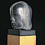 Nico Widerberg: Hode med hette, 1999, 155 x 23 cm