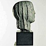 Nico Widerberg: Hode med linjer, 1999, 42 x 20 cm