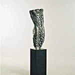 Nico Widerberg: Torso III, 2000, 170 x 37 cm