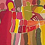 Nini Anker Dessen: Undring, 2000, 90 x 225 cm