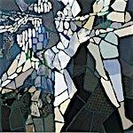Nini Anker Dessen: Vinternatt, 2000, 160 x 165 cm