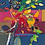 Nini Anker Dessen: Glad Høst, 2000, 65 x 55 cm