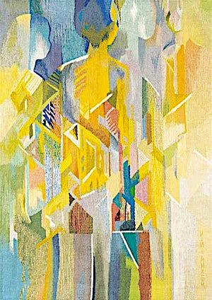Nini Anker Dessen, Ventende, 2000, 140 x 105 cm