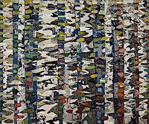 Nini Anker Dessen, Vårflimmer 1, 2007, 157 x 185 cm
