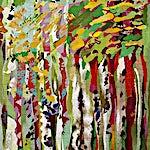 Nini Anker Dessen: Ny vår, 2006, 182 x 130 cm