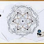 Ole Jørgen Ness: Mental map #6, 1998, 95 x 120 cm