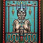 Ole Rinnan: Alma Mater II, 2001, 97 x 72 cm