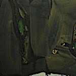 Olivier Debré: Sombre automne, 1965, 82 x 116 cm