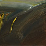 Olivier Debré: Automne - Oppdal, 1978, 46 x 55 cm