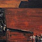 Ørnulf Opdahl: Rød kveld, 2001, 98 x 116 cm