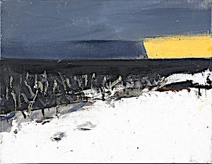 Ørnulf Opdahl, Vinter i vest (studie), 2015, 26 x 35 cm