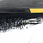 Ørnulf Opdahl: Vinter I vest II, 2015, 60 x 80 cm