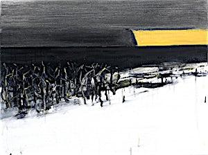 Ørnulf Opdahl, Vinter I vest II, 2015, 60 x 80 cm