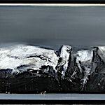 Ørnulf Opdahl: Vestkyst, 2015, 70 x 240 cm