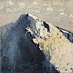 Ørnulf Opdahl: Sol og skygge II, 2018, 80 x 80 cm