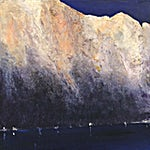 Ørnulf Opdahl: Sol og skygge, 2017, 60 x 60 cm