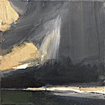 Ørnulf Opdahl: Studie, 2017, 30 x 30 cm