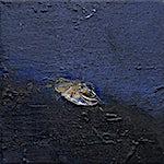 Ørnulf Opdahl: Høstmåne, 2019, 30 x 30 cm