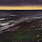 Ørnulf Opdahl: Kveld etter storm, 2007, 80 x 80 cm