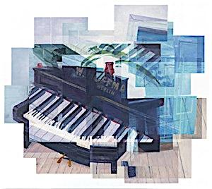Øystein Tømmerås, Nr 3. (w. hoffmann-berlin-mix), 2013, 90 x 100 cm