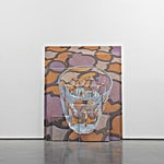 Øystein Tømmerås: Nr 6.  (mønster-stabel-projeksjon), 2014, 132 x 107 cm