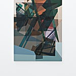 Øystein Tømmerås: Disintegration # 1 (do-not-disturb-mix), 2019, 120 x 80 cm