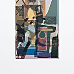 Øystein Tømmerås: Disintegration # 2 (bitte-nicht-stören-mix), 2019, 120 x 80 cm