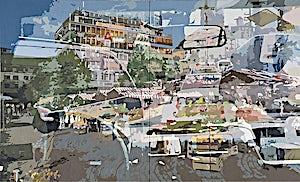 Øystein Tømmerås, IMG20070331_04, 2007, 140 x 230 cm