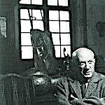 Pablo Picasso: Denise Colombe: Picasso à la fenêtre, studios des Grands Augustins, 1952, 30 x 24 cm