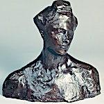 Pablo Picasso: Tête de femme (Alice Derain), 1905, 27 x 27 cm