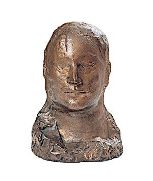Pablo Picasso: Tête de femme (Fernande), 1905, 35 x 24 cm