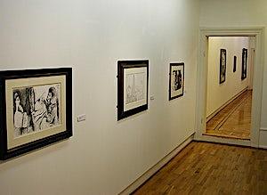 Pablo Picasso, fra utstillingen 2, 2004
