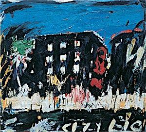 Per Morten Karlsen, Byens lys, 2001, 68 x 75 cm