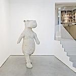 Petter Hepsø: Walking fugure II, 2013, 241 x 88 cm