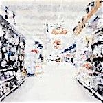 Philippe Cognée: Supermarche, 2000, 83 x 110 cm